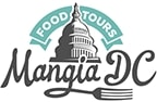 Mangia DC Food Tours Logo - Best Food Tours in Washington DC